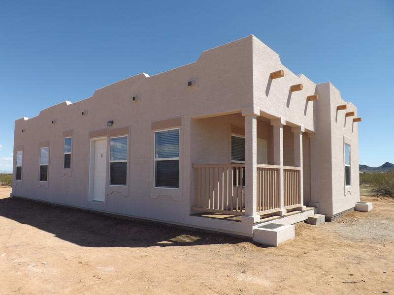 Manufacture and modular home photos az fairbrook homes for Adobe style mobile homes