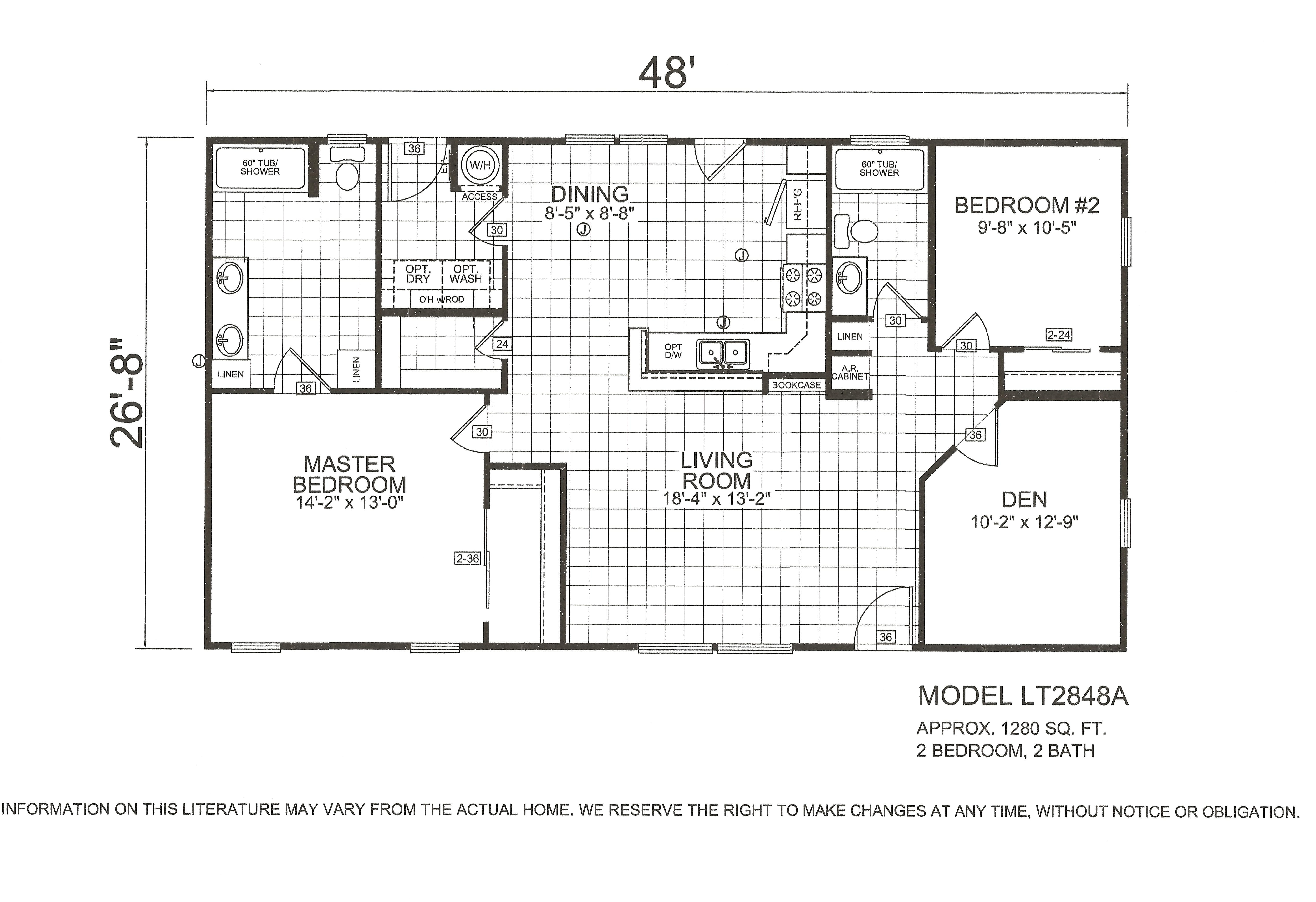 Fairbrook homes floor plans sales dealer arizona Floorplan com